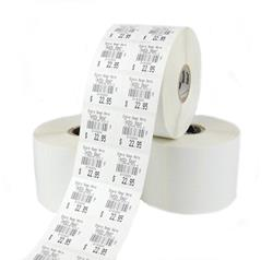 "1.18"" x 1"" Bar Code Labels Removable Adhesive, 6 rolls,10010052"