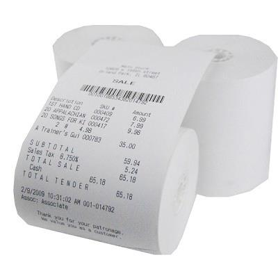 Thermal Receipt Paper - Case of 50 Rolls,54-220