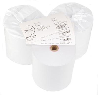 Thermal Tickets with 1/2'' Stub for Star Printer, 12 Rolls,250-L037-0010
