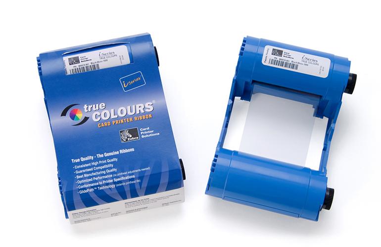 Zebra P110i Ribbon Monochrome Cartridge 1000 Per Ribbon,ZCD-800017201