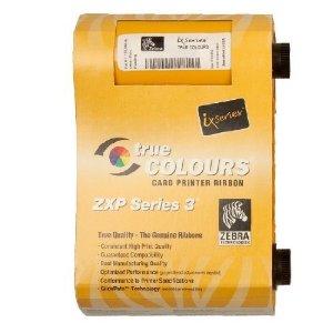 Zebra ZXP3 Color Ribbon, 200 Images Per Ribbon,ZCD-800033840