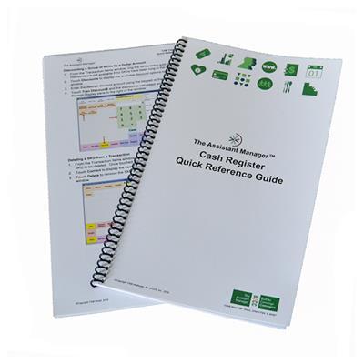 Cash Register Quick Reference Guide V11,CRQRGV11