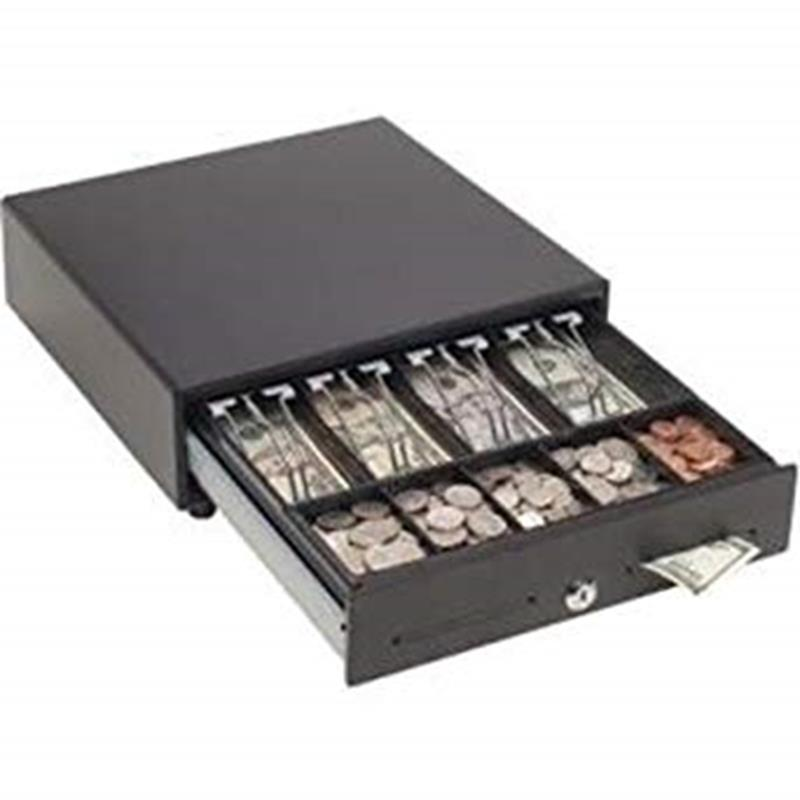 "MMF Val-u Line Manual Cash Drawer, Black, 13""x14""x4"",MMF-VAL1314M-04"