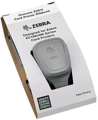 Zebra ZC300 Color Ribbon Cartridge, 300 Images Per Ribbon,800300-550