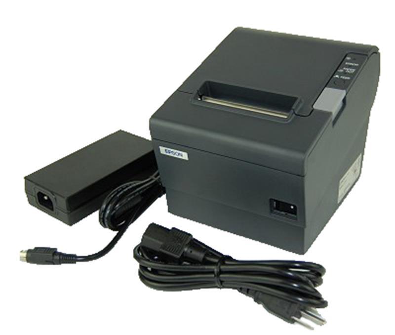 Epson T88VI Receipt Printer USB, Ethernet, Serial, BT, PS,C31CE94061
